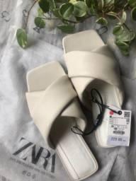 Sapato Novo Zara Branco 34