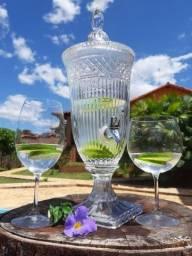 Título do anúncio: Suqueira em cristal, transparente cor água