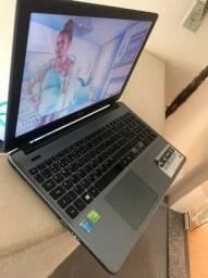 Notebook Acer i7 8 de ram 1 terra HD ( com placa de vídeo )