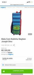 Vendo mochila/mini mala Steven Joseph