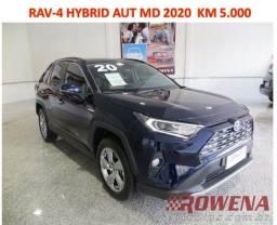 Título do anúncio: Rav4 2.5 Sx Hybrid 4X4 mod 2020  5.000Km  U. Dono