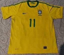 Camisa Seleção Brasileira Oficial 2010