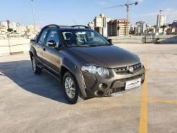 Fiat Strada Adventure Cabine Dupla Duologic - Bancos de Couro - Conservada
