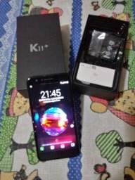 Telefone LG+11 unico do com caixa 1 ano uso vai com capa apenas 380,00