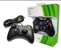 Título do anúncio: Controle Video Game Xbox 360 Com Fio Joystick Xbox360 E Pc