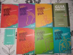 Livros Sanar Fisioterapia - Novos sem uso