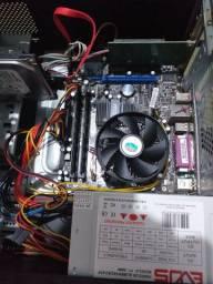 CPU DDR3 + PLACA DE VÍDEO + PLACA WIRELESS + 8GB DE RAM + HD SATA DE 500G