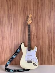 Guitarra branca Cruiser by crafter
