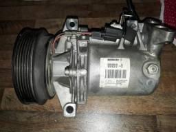 Compressor do ar logan sandero 1.6 8v anos 2014 15 16 17