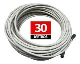 Título do anúncio:  * buscar hj vendo 30 metros de cabo de antena completo