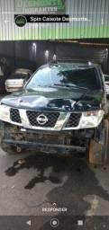 Sucata Nissan frontier 2.5 2013 para retirada de peças
