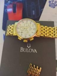 Relógio bulova dourado original