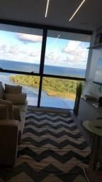 { Alugo } Flat mobiliado - Projetado + vista pro mar