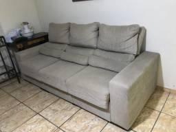 Sofá 3 lugares reclinável