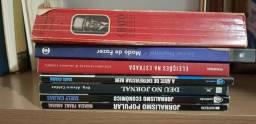 Lote - Livros essenciais para estudantes de jornalismo