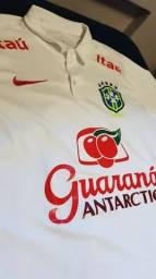 Camisa Passeio Seleção Brasileira 2018 Oficial
