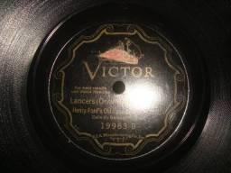 Fonotipia, Henry Ford RCA selo bordado, Odeon Casa Edison, 78 rpm