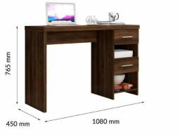 Nova Escrivaninha mesa Desktop 02 gavetas = oferta!!!