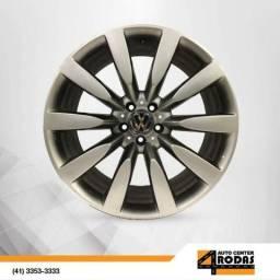 Roda ARO 20 5X112 Preta/Prata Replica