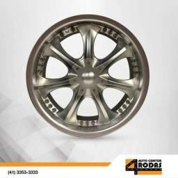 Roda ARO 20 4X100/4X114 Importada Prata