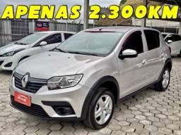 Renault Sandero ZEN 1.6 CVT 2021 AUTOMATICO APENAS 2.300KM