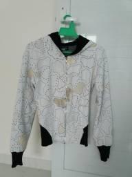 Jaqueta Branca Bordada