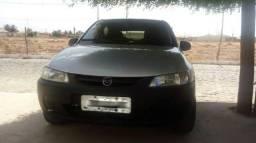 Carro Celta 04 portas basico cinza metalico ano 2005 - 2005