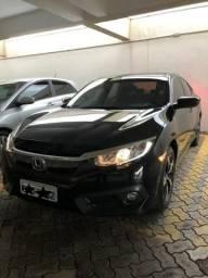 Honda Civic 2017/2017 EX Preto G10 Automático - Único Dono - 2017