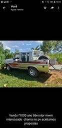 Vendo f1000 ano 86 - 1986