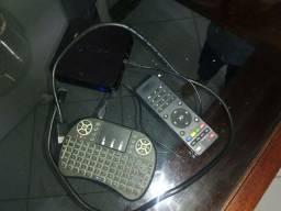 Tv box com teclado