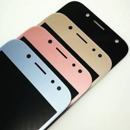 Tela display Galaxy j5 pro amoled original cor em estoque rosa