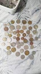 Vendo moedas para colecionador