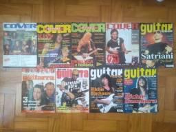 Coleção revistas cover guitarra, Guitar Class, Guitar player