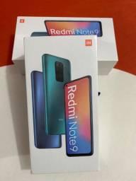 Redmi Note 9 de 128 GB Lacrado ?