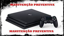 Limpeza Preventiva Videogames- PS4/Xbox One/Xbox 360