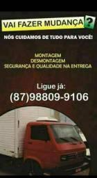 FRETES E MUDANÇAS EM PETROLINA/JUAZEIRO E REGIÃO DO VALE DO SÃO FRANCISCO