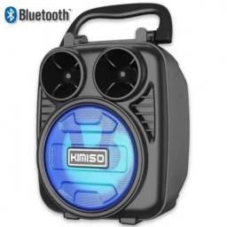 Caixa de Som Portátil Bluetooth KMS-1182- NOVO