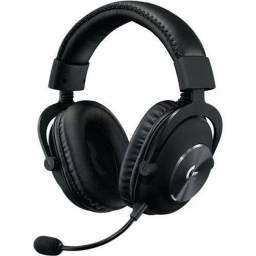 Headset Gamer Logitech G Pro Aluminio e Aço