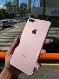 Rosa de vitrine_ iPhone_7 Plus de 32 gb;