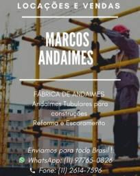Andaimes - Locação e Vendas