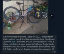 Bike feminina Lotus