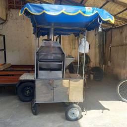 Título do anúncio: Vendo carrinho pra churrasquinho