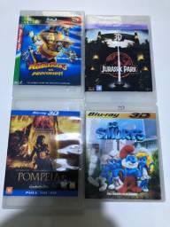 Coleção de Dvds Blu-ray 3D