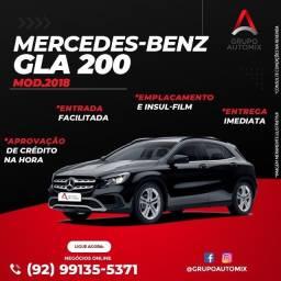 Título do anúncio: gla 200 2018