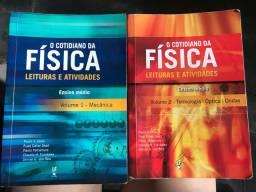 O Cotidiano da Física - Volumes 1 e 2 (livros didáticos de física)