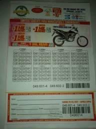 Cartelas:Manacá da Sorte R$ 6,00 & R$ 10,00