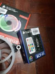 3 Cooler Fan + Controlador BlueCase Gamer