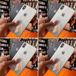 IPHONE X DE 64 GB - NOVO VITRINE