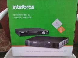 Gravador Digital Nvr De Imagem Nvd 1308 Intelbras 8 Canais