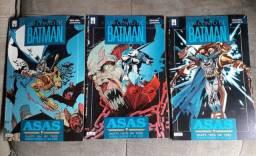 HQ Um Conto De Batman - Asas: Mini Série em 3 Edições